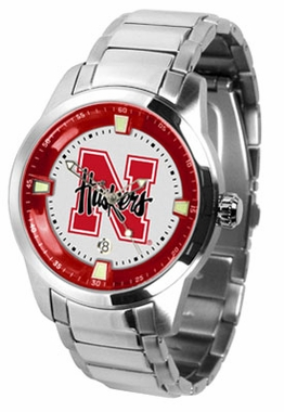 Nebraska Titan Men's Steel Watch