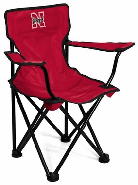 Nebraska Toddler Folding Logo Chair