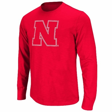 Nebraska Touchdown Soft L/S T-shirt