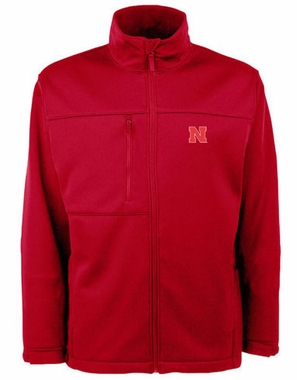 Nebraska Mens Traverse Jacket (Team Color: Red)