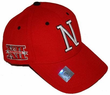 Nebraska Triple Conference Adjustable Hats