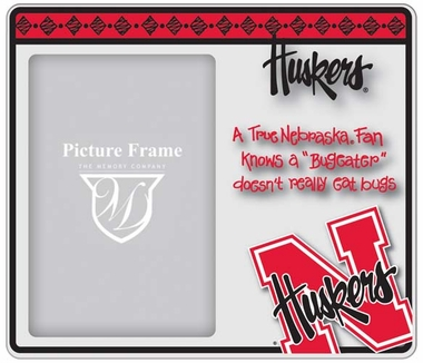 Nebraska True Fan Picture Frame