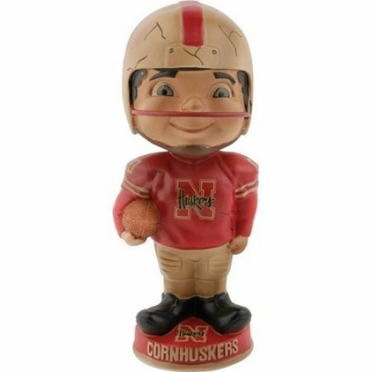 Nebraska Vintage Retro Bobble Head