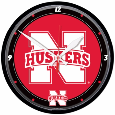 Nebraska Wall Clock