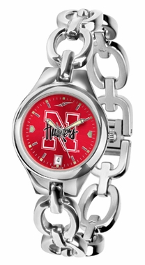 Nebraska Women's Eclipse Anonized Watch