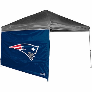 New England Patriots 10 x 10 Straight Leg Shelter Panel