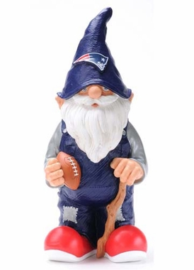 "New England Patriots Garden Gnome - 11"" Male"