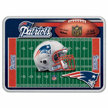 New England Patriots 11 x 15 Glass Cutting Board