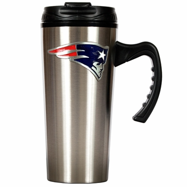 New England Patriots 16 oz. Thermo Travel Tumbler (Slim)