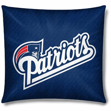 New England Patriots 18 Inch Toss Pillow