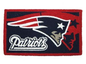 New England Patriots 18x30 Bleached Welcome Mat