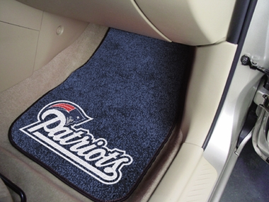 New England Patriots 2 Piece Car Mats