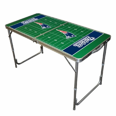 New England Patriots 2 x 4 Foot Tailgate Table