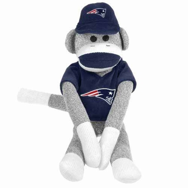 New England Patriots 2013 27 Uniform Sock Monkey