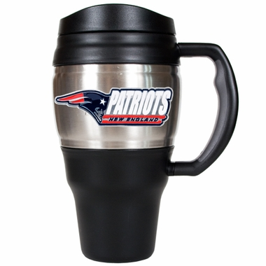 New England Patriots 20oz Oversized Travel Mug