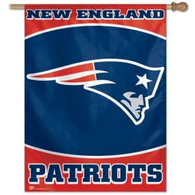 "New England Patriots 27"" x 37"" Banner"