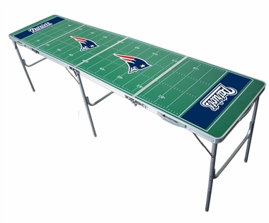 New England Patriots 2x8 Tailgate Table
