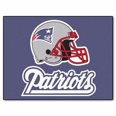 New England Patriots 34 x 45 Rug
