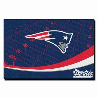 New England Patriots 40 x 60 Rug