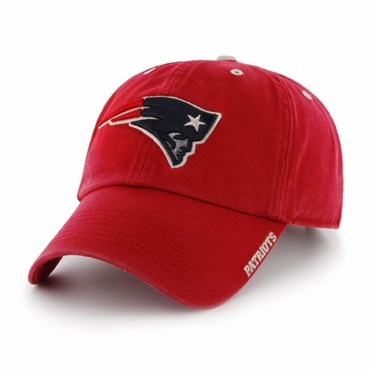 New England Patriots 47 Brand NFL Clean Up Ice Adjustable Hat - Red