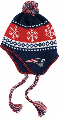 New England Patriots Abomination Tassel Knit Hat