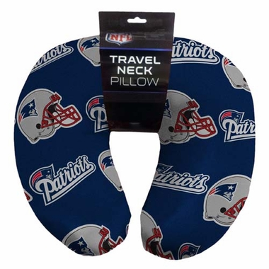 New England Patriots Beaded Neck Pillow