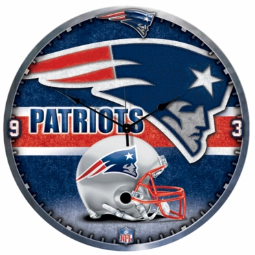 New England Patriots Big 18 Inch Hi Definition Clock