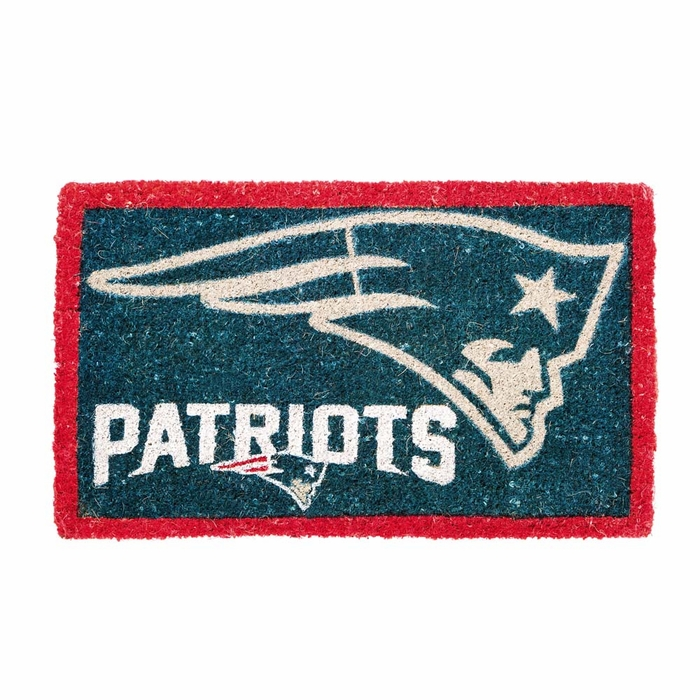 New England Patriots Bleached Welcome Mat