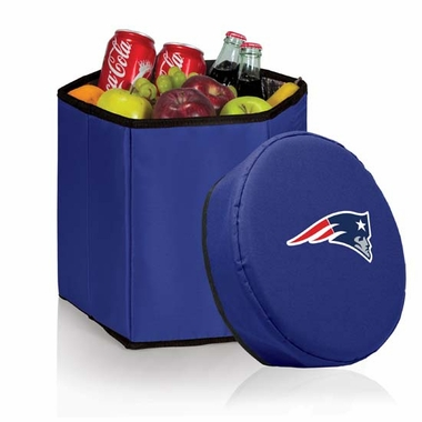 New England Patriots  Bongo Cooler / Seat (Navy)
