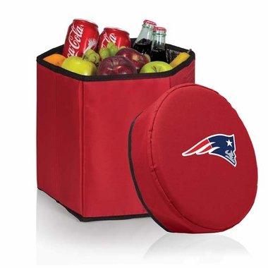New England Patriots  Bongo Cooler / Seat (Red)