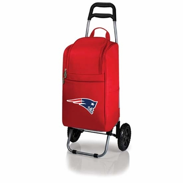 New England Patriots Cart Cooler (Red)