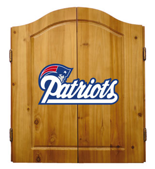 New England Patriots Complete Dart Cabinet