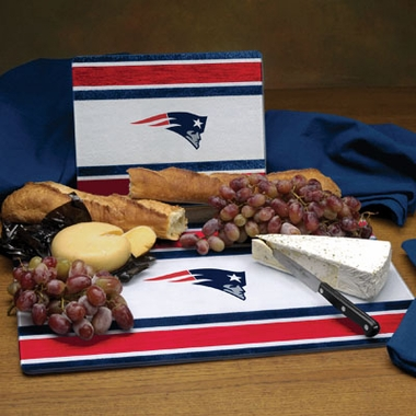 New England Patriots Cutting Board Set