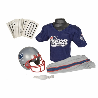 New England Patriots Deluxe Youth Uniform Set