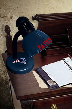New England Patriots Dorm Lamp