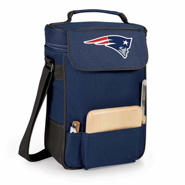 New England Patriots Duet Compact Picnic Tote (Navy)