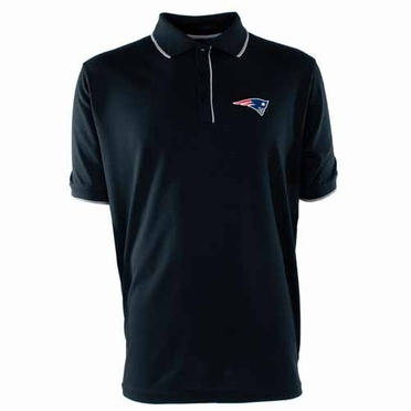 New England Patriots Mens Elite Polo Shirt (Team Color: Navy)