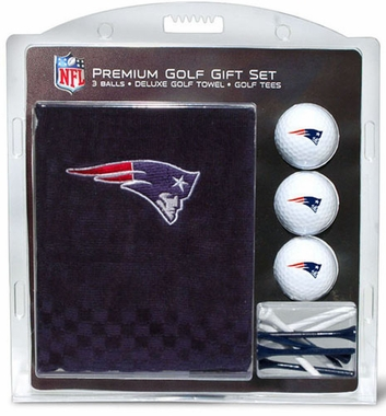 New England Patriots Embroidered Towel Gift Set