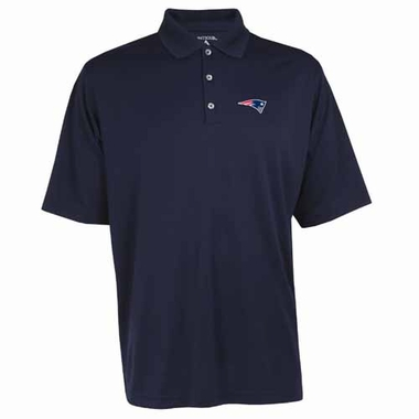 New England Patriots Mens Exceed Polo (Team Color: Navy)
