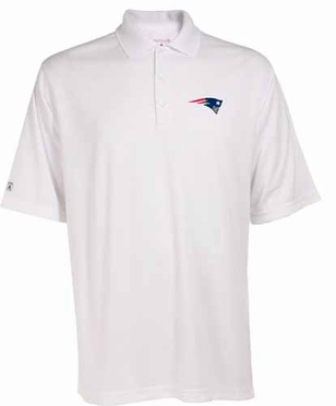 New England Patriots Mens Exceed Polo (Color: White)