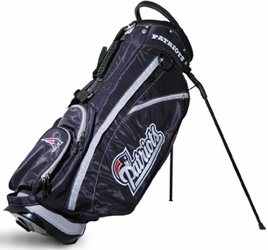 New England Patriots Fairway Stand Bag