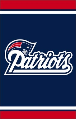 New England Patriots Fiber Optic Garden Flag
