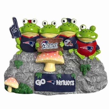New England Patriots Frog Fan Bench