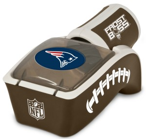 New England Patriots Frost Boss Beverage Chiller