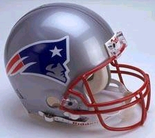 New England Patriots Full Sized Replica Helmet