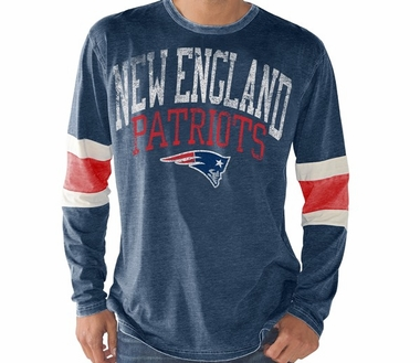 "New England Patriots G-III NFL ""Post-Up"" Long Sleeve Premium Shirt"