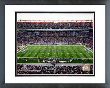 New England Patriots Gillette Stadium 2011 16x20 Framed and Double-Matted Photo