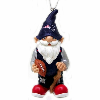 New England Patriots Gnome Christmas Ornament