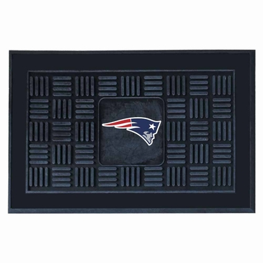 New England Patriots Heavy Duty Vinyl Doormat