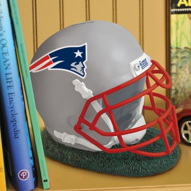 New England Patriots Helmet Shaped Bank